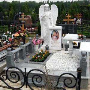 Мраморный ангел  - Камень памяти - Примеры других исполнителей