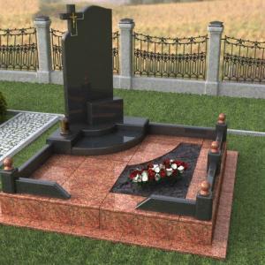 Комплекс с оригинальной стелой - Камень памяти - Примеры других исполнителей