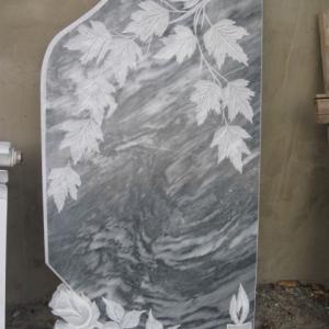 Мраморная плита с гравировкой - Камень памяти - Наша работа