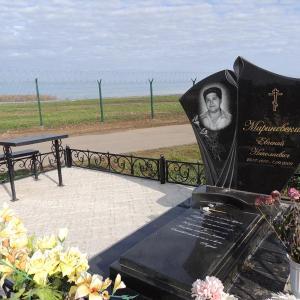 Мемориальный комплекс с кованой оградой - Камень памяти - Примеры других исполнителей