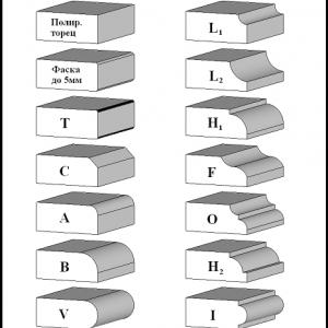 Варианты фасок на каменных изделиях - Камень памяти - Примеры других исполнителей