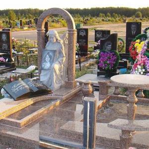 Памятник с ангелом - Камень памяти - Примеры других исполнителей