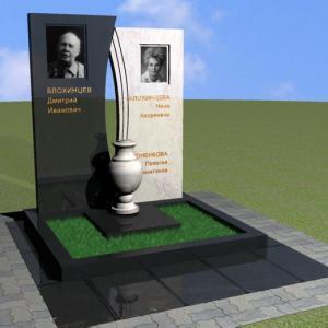 Высокие стелы из мрамора - Камень памяти - Примеры других исполнителей