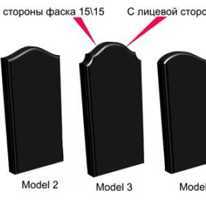 Варианты фасок - Камень памяти - Примеры других исполнителей