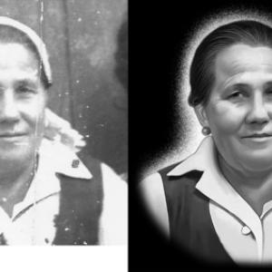 Портрет на надгробии - Камень памяти - Примеры других исполнителей
