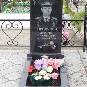 Надгробие из гранита - Камень памяти - Наша работа