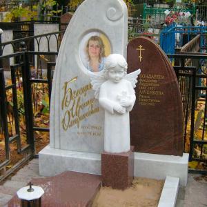 Темный и светлый камень памятника - Камень памяти - Примеры других исполнителей
