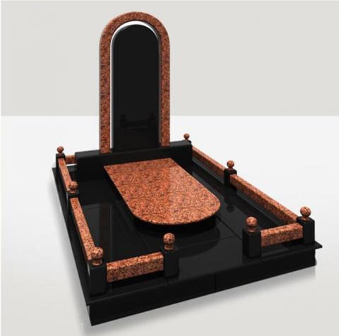 Мемориальный комплекс с овальной стелой - Камень памяти - Примеры других исполнителей