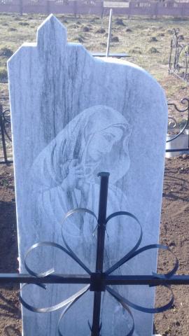 Гравировка скорбящего ангела - Камень памяти - Примеры других исполнителей